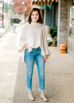 B Hayride Cream Sweater