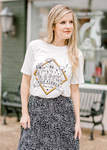 wildflower tee - epiphany boutiques