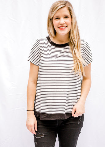 Kyra Striped Top