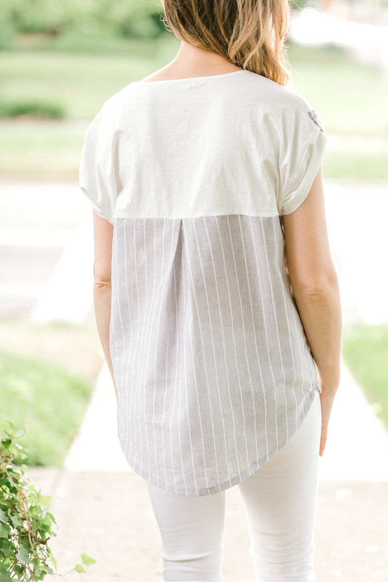 pleated top - epiphany boutiques