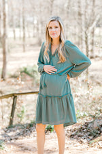 Love the Jade Dress for the Bump