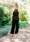 racerback jumpsuit with back keyhole closer - epiphany boutiques