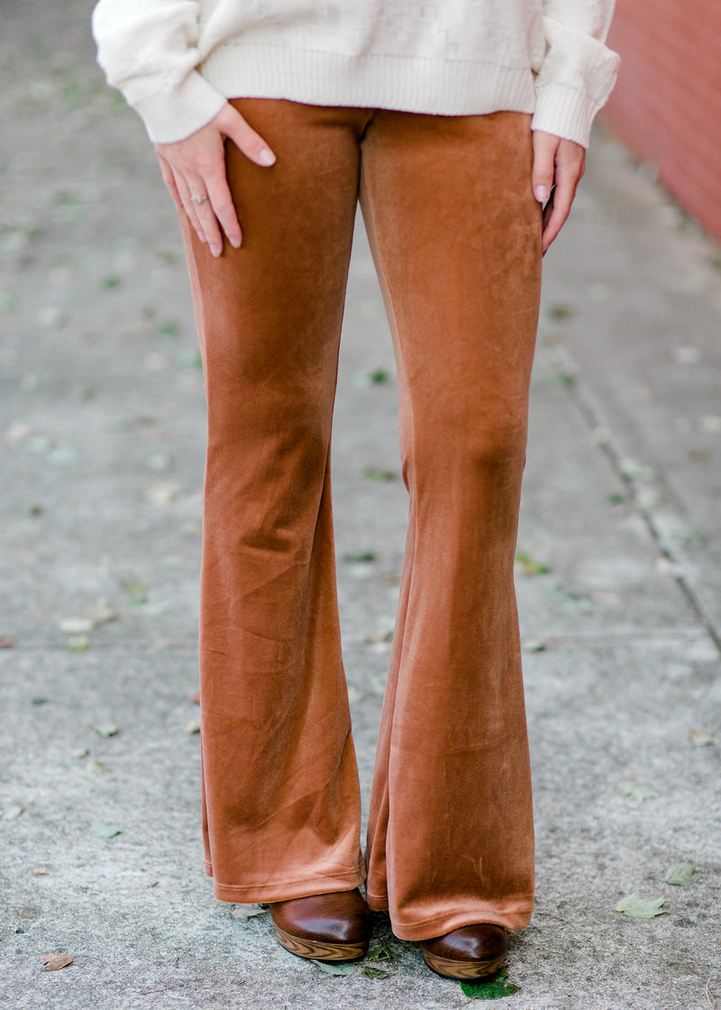 flares in mauve - epiphany boutiques