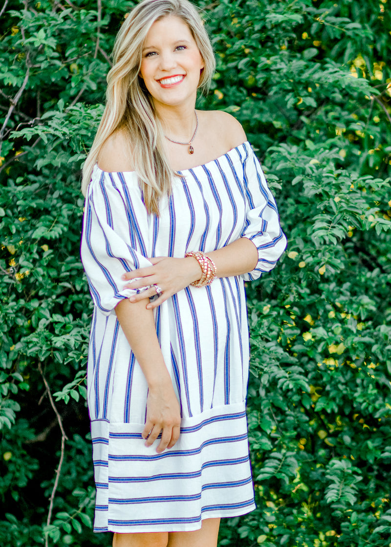 off the shoulder dress - epiphany boutiques