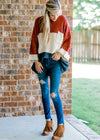 sweater with bell sleeve - epiphany boutiques