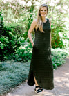 maxi dress in olive - epiphany boutiques
