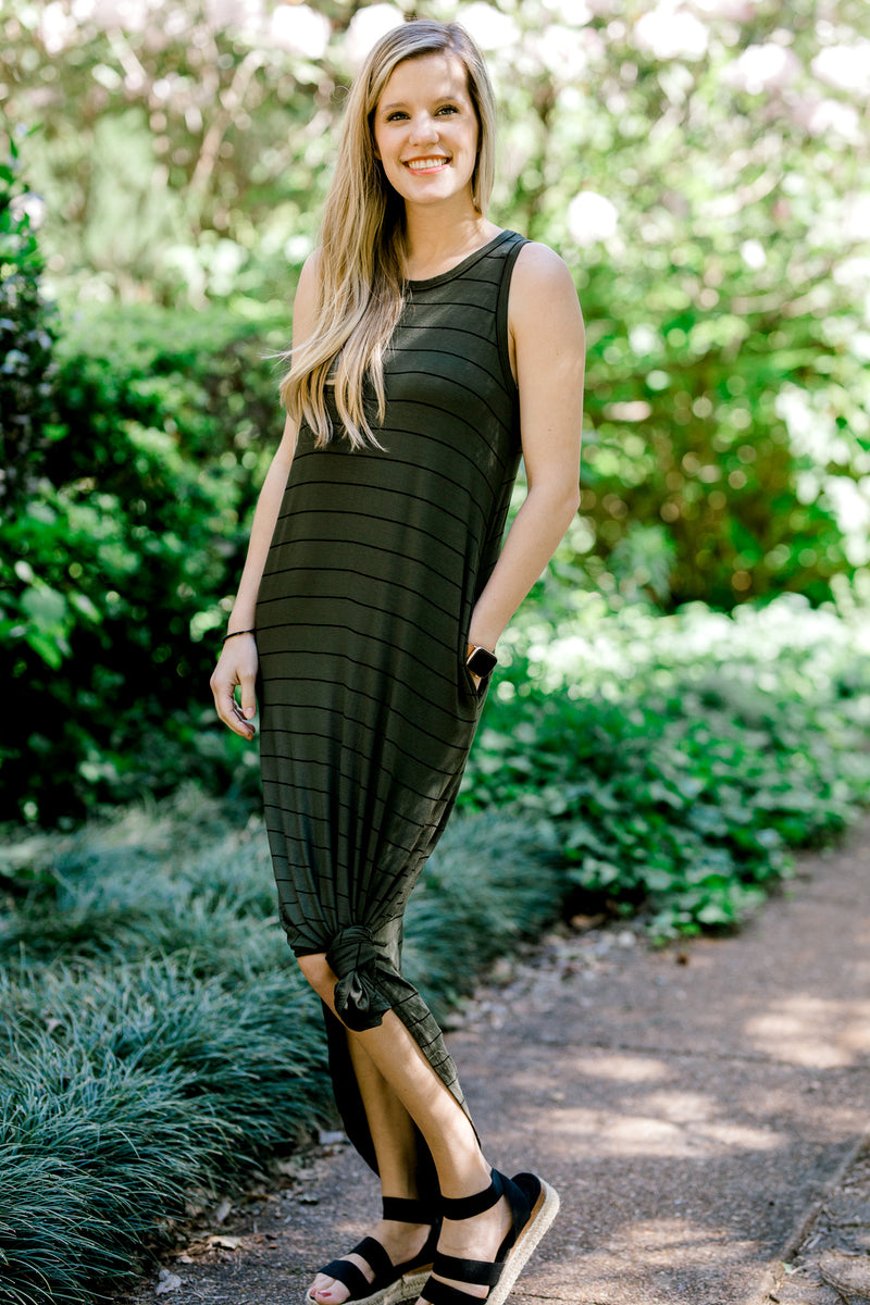 sleevless maxi dress - epiphany boutiques