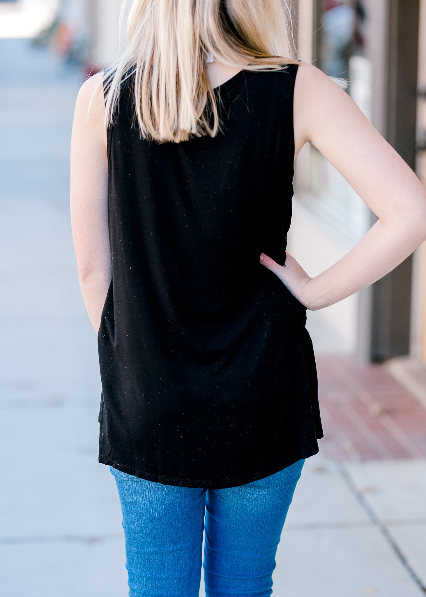 Our Favorite Black Bamboo Top