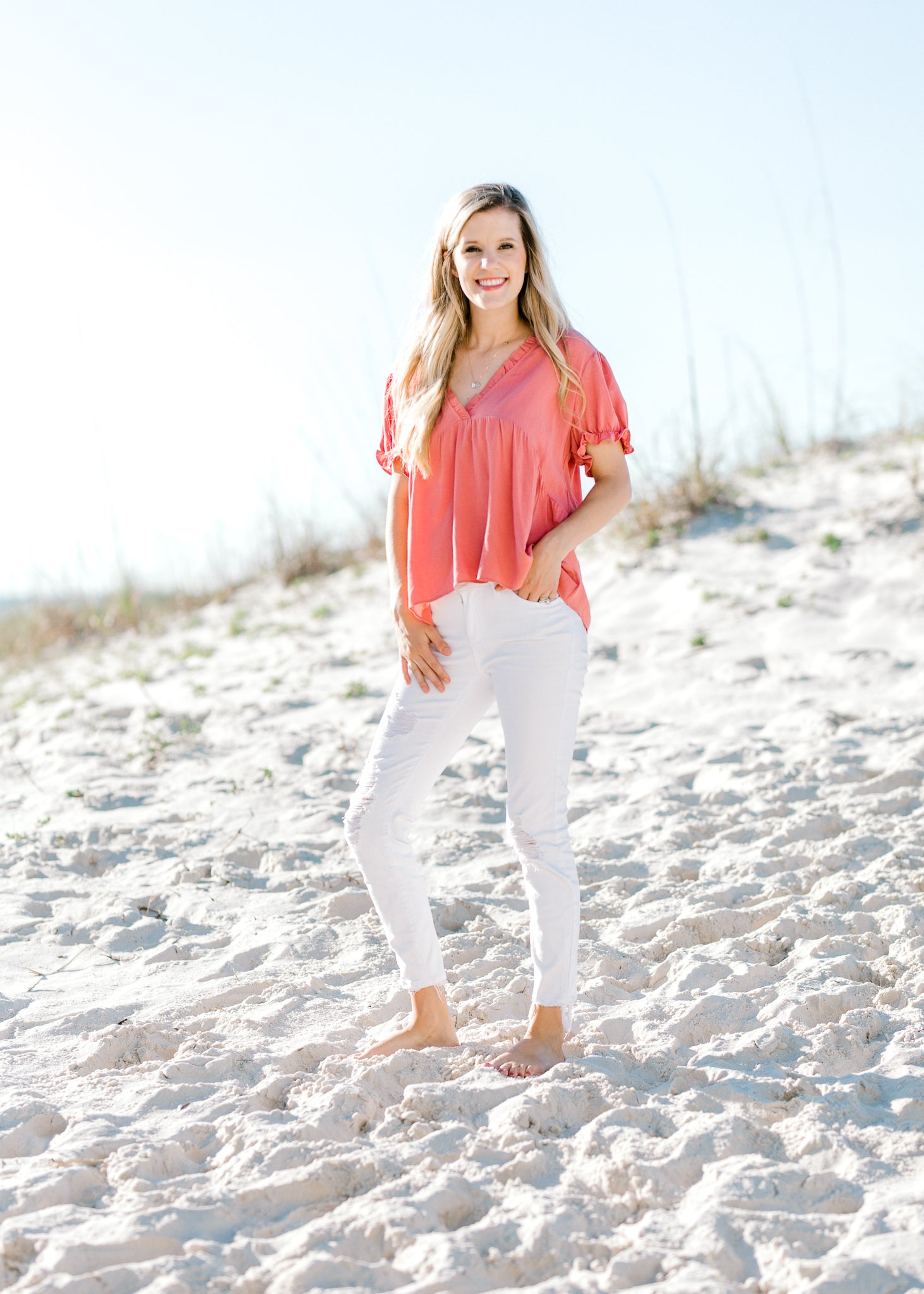 v neck top -  epiphany boutiques