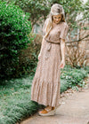 golden brown maxi dress - epiphany boutiques