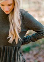 Simple is Sweet Tiered Sweater