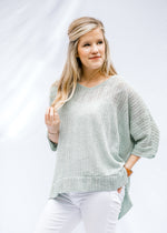 loose knit sweater - epiphany boutiques