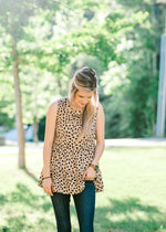 tiered top with printing - epiphany boutiques