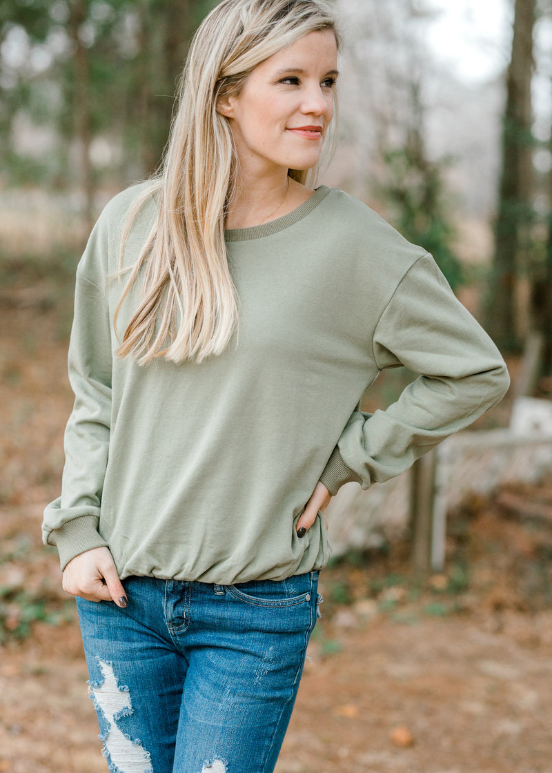 Spring in Your Step Pullover