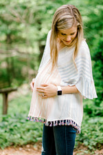 X Sunset Tassel Top for the Bump