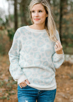 B Super Soft Leopard Sweater