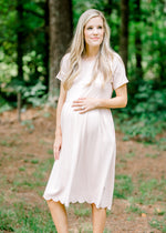 X Blush Babydoll Dress for the Bump