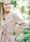 camel coat with tie waist - epiphany boutiques