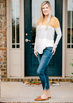 tulip hem skinny jeans - epiphany boutiques