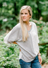 Two Sides Nub Knit Top