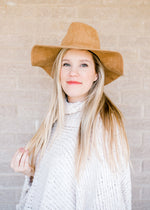 suede ranch hat - epiphany boutiques