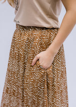 midi skirt with pockets - epiphany boutiques