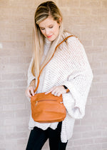 cross body in whiskey color - epiphany boutiques