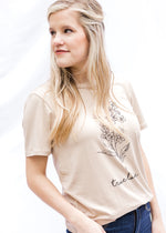 wildflower graphic tee - epiphany boutiques