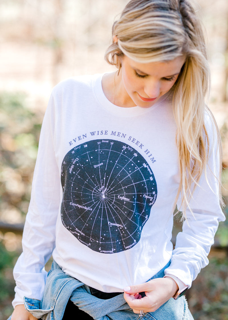 The Wise Men Long Sleeve Tee