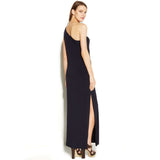 MICHAEL Michael Kors One-Shoulder Hardware Maxi Dress - Your Glam Style - 4