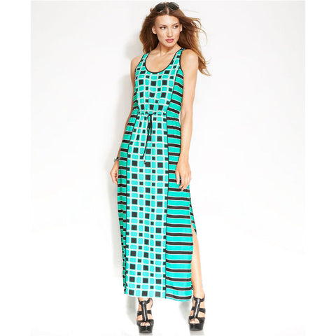 MICHAEL Michael Kors Soho Square Sleeveless Maxi Dress - Your Glam Style - 2