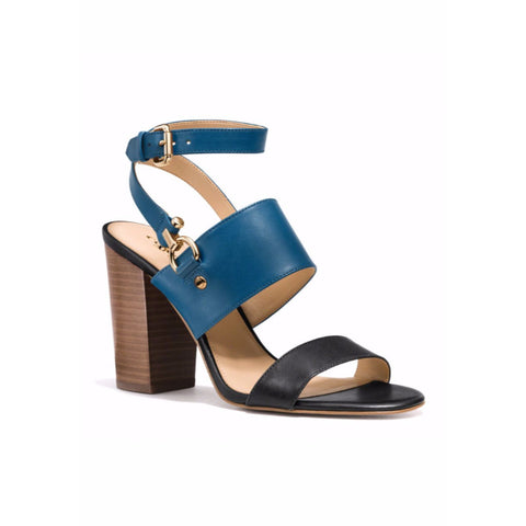 COACH Sherri Colorblocked Leather Sandals - Your Glam Style