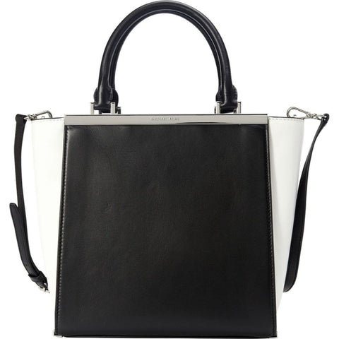 2b6a2a9aad5912 MICHAEL Michael Kors Lana Medium Colorblock Leather Tote Handbag - Your  Glam Style - 1