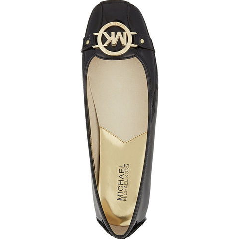 MICHAEL Michael Kors Fulton Patent Leather Moccasin Flats - Your Glam Style - 1