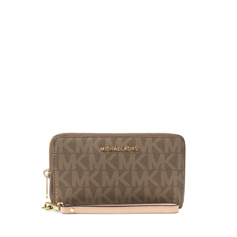 MICHAEL Michael Kors Large Signature Print Multifunction Phone Case Wristlet