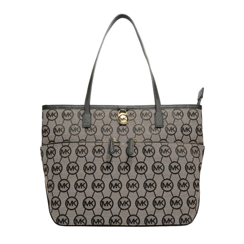 MICHAEL Michael Kors Signature Jet Set Medium Pocket Tote