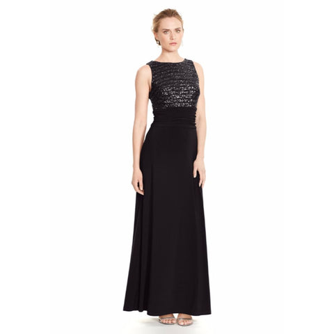 Lauren Ralph Lauren Sequined Sleeveless Gown - Your Glam Style - 1