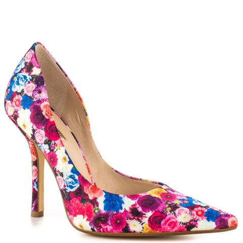 "Guess ""Carrie"" Floral Dress Pumps - Your Glam Style - 1"