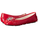 MICHAEL Michael Kors Fulton Patent Leather Moccasin Flats - Your Glam Style - 4