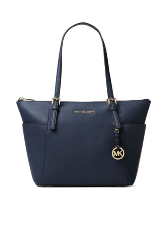 dd92ec123ffa05 MICHAEL Michael Kors Lana Medium Colorblock Leather Tote Handbag ...
