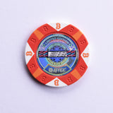 Bitcoin Chip, 5K Bits, Roll of Twenty