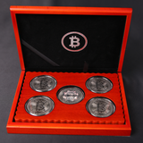 Five Bitcoin, Set of Five