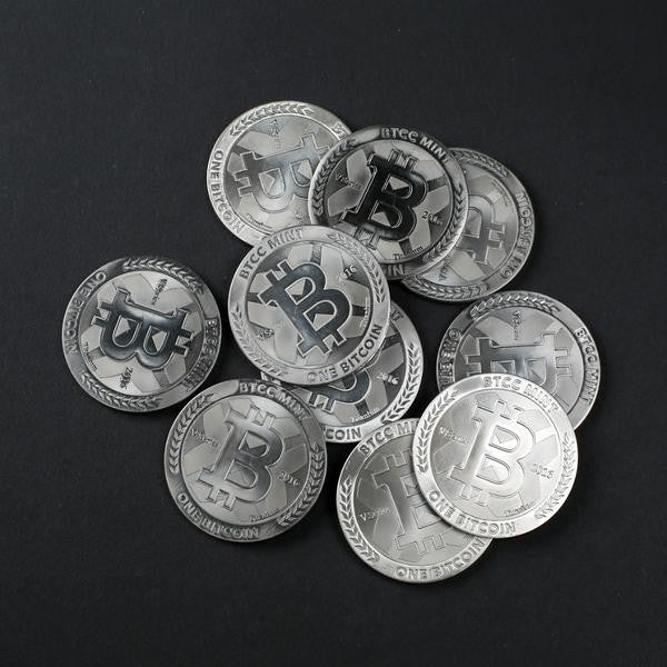 One Bitcoin, Set of 5