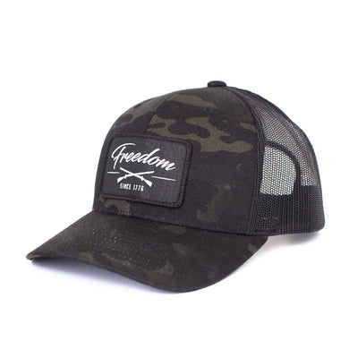 Multicam Retro Trucker