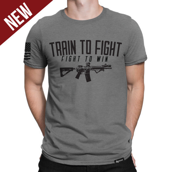 Men's Train To Fight Tee