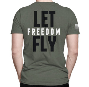 Mens Let Freedom Fly Tee