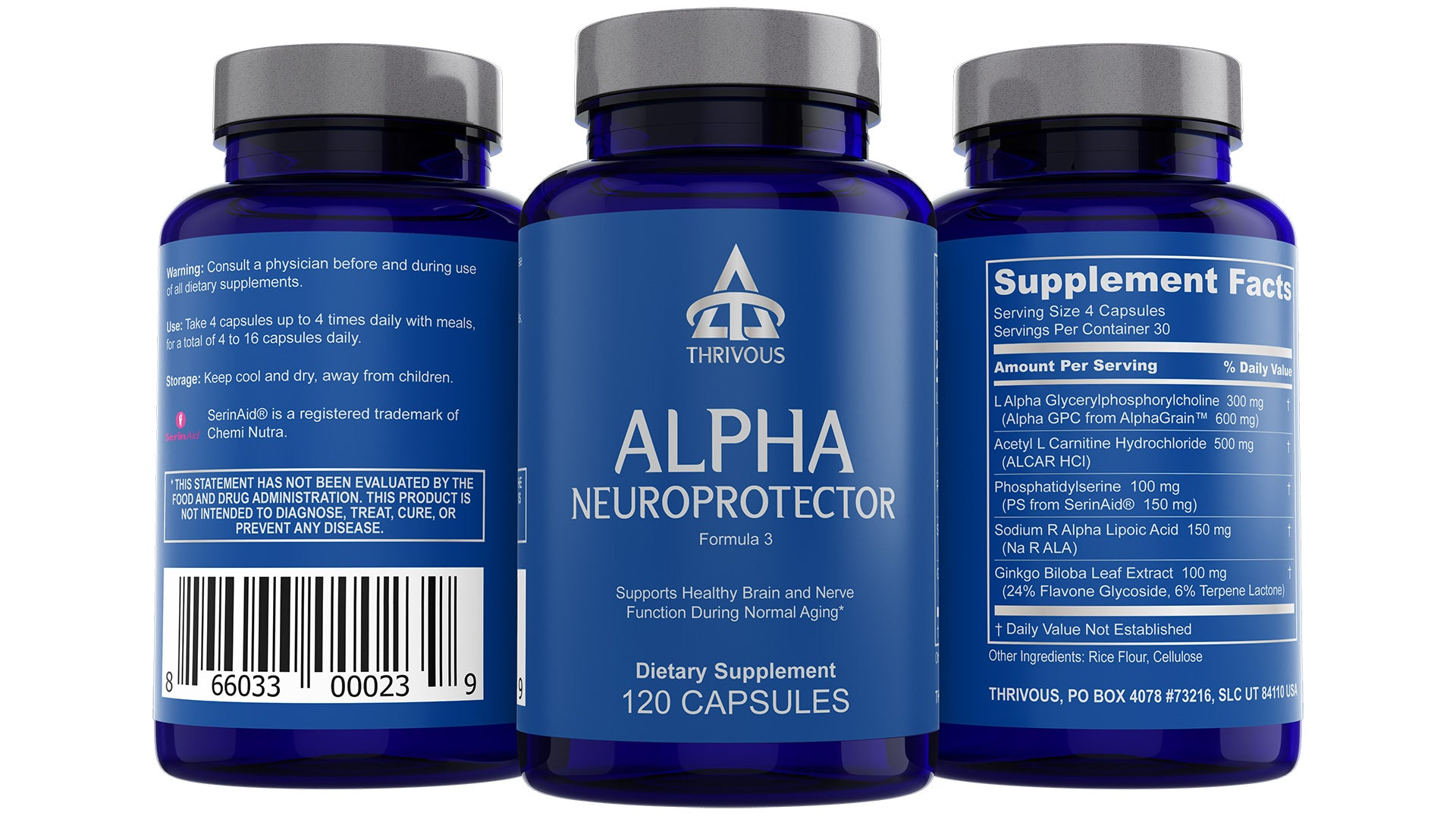 Alpha, Extended Daily Nootropic