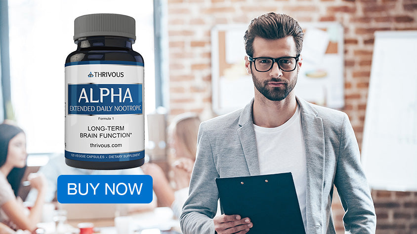 Buy Alpha, the Extended Daily Nootropic to support long-term brain function