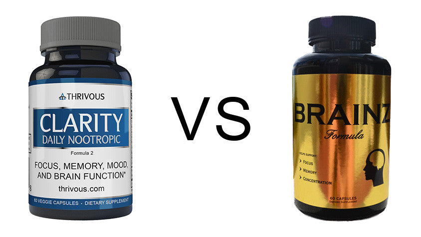 Thrivous Clarity vs Brainz Power