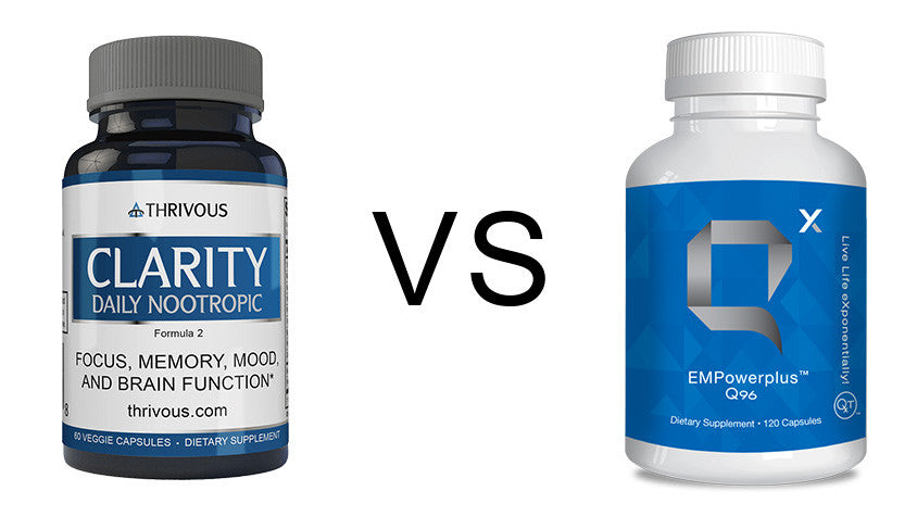 Thrivous Clarity vs Q Sciences EMPowerplus Q96